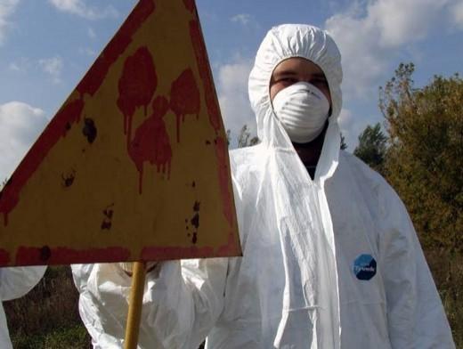 обос со знаком радиации